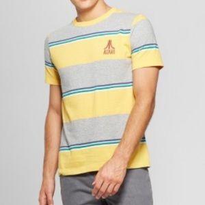 JUNK FOOD | Vintage-Style Striped ATARI Shirt